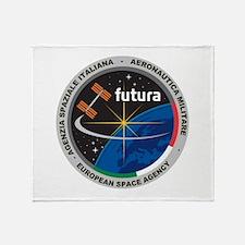 Futura Mission Logo Throw Blanket