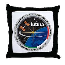 Futura Mission Logo Throw Pillow