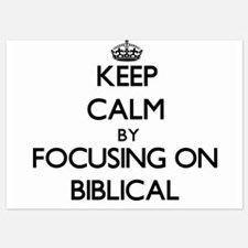 Keep Calm by focusing on Biblical Invitations