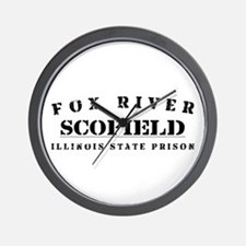 Scofield - Fox River Wall Clock