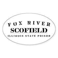 Scofield - Fox River Oval Decal