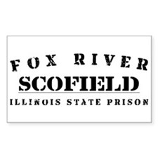 Scofield - Fox River Rectangle Decal