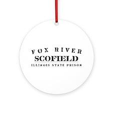 Scofield - Fox River Ornament (Round)