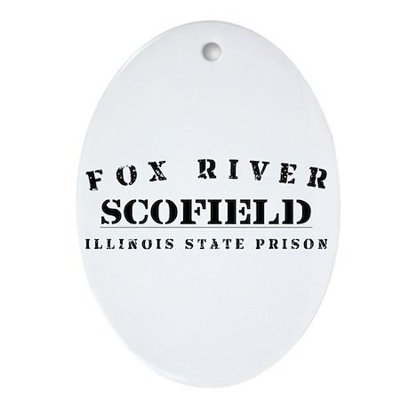 Scofield - Fox River Oval Ornament