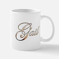 Gold Gail Mugs