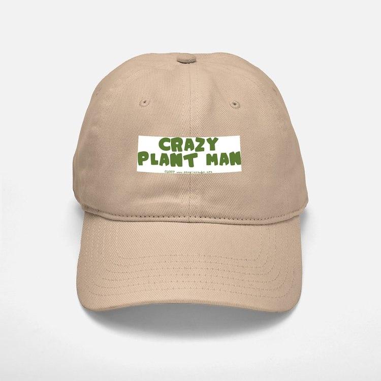 Crazy Plant Man Baseball Baseball Cap
