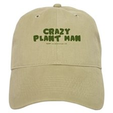 Crazy Plant Man Baseball Cap