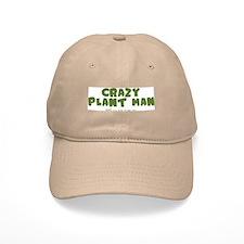Crazy Plant Man Baseball Cap