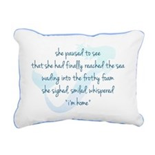 Mermaid Rectangular Canvas Pillow