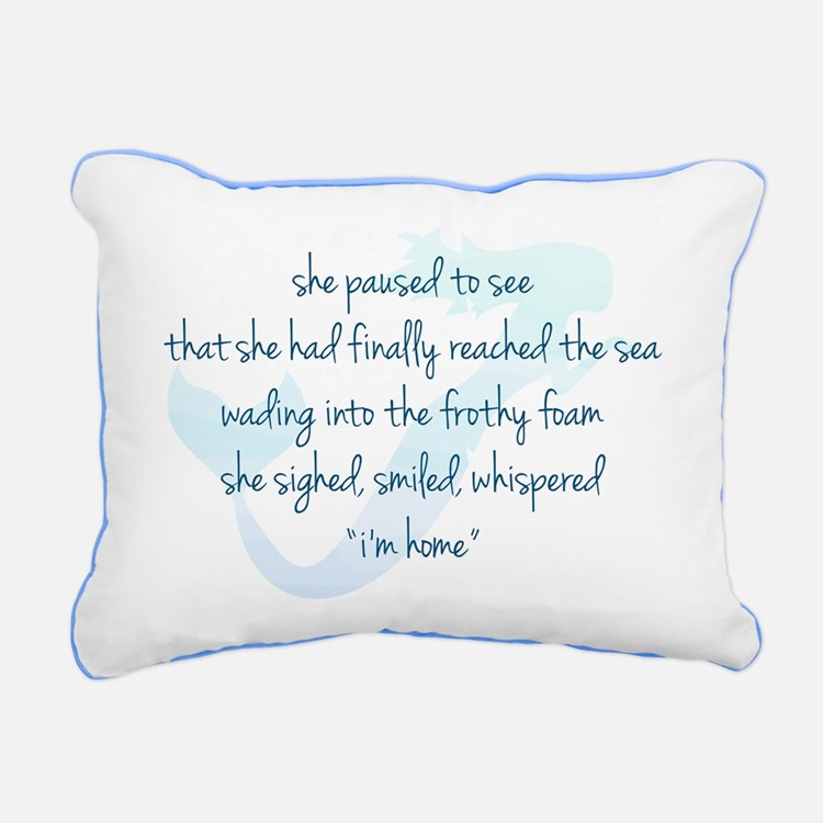 Mermaid Rectangular Canvas Pillow