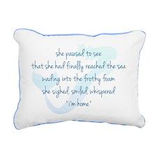 Tropical Palm Rectangular Canvas Pillow