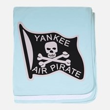 yankee_air_pirate.png baby blanket