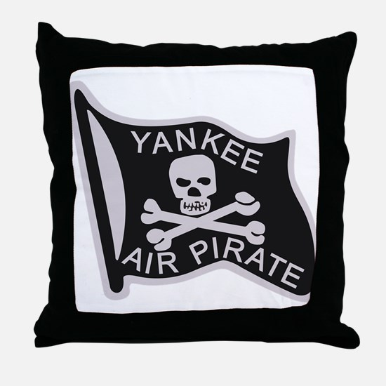 yankee_air_pirate.png Throw Pillow