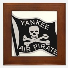 yankee_air_pirate.png Framed Tile