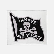 yankee_air_pirate.png Throw Blanket