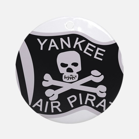 yankee_air_pirate.png Ornament (Round)