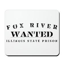 Wanted - Fox River Mousepad