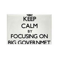 Keep Calm by focusing on Big Governmet Magnets