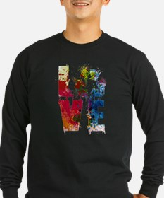Love Recycle Reuse Reduce Eart Long Sleeve T-Shirt