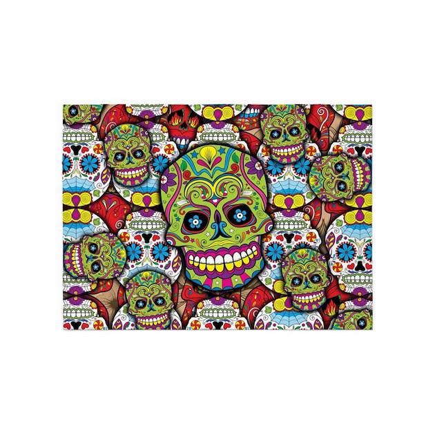 Sugar Skulls 5'x7'Area Rug By Admin_CP114807468