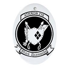 va-216_Black Diamonds_patch.png Ornament (Oval)