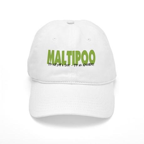 Maltipoo IT'S AN ADVENTURE Cap