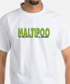 Maltipoo IT'S AN ADVENTURE Shirt