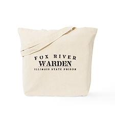 Warden - Fox River Tote Bag