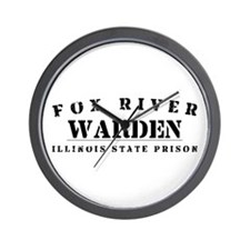 Warden - Fox River Wall Clock