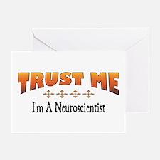 Trust Neuroscientist Greeting Cards (Pk of 10)