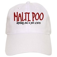 Maltipoo JUST A DOG Baseball Cap