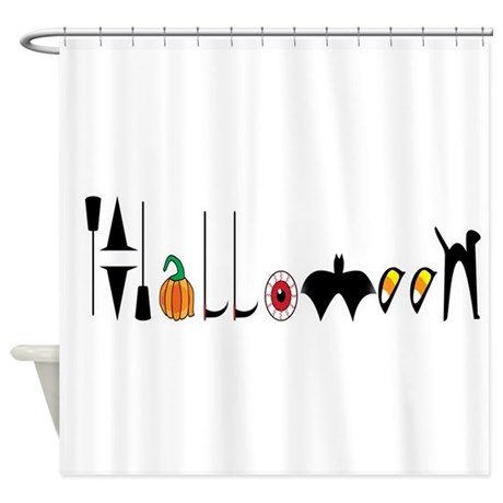 Halloween Shower Curtain By Ddbaz