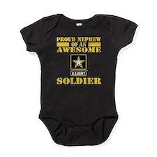 Proud Nephew U.S. Army Baby Bodysuit