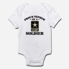 Proud Nephew U.S. Army Infant Bodysuit