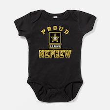 Proud U.S. Army Nephew Baby Bodysuit