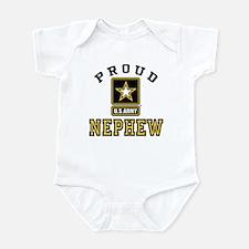 Proud U.S. Army Nephew Infant Bodysuit