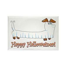 Happy Halloween Dachshund Magnets