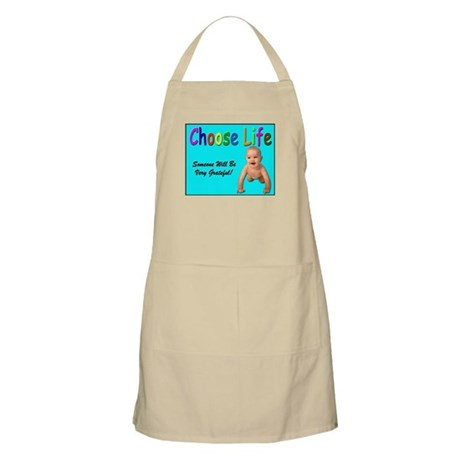 Choose Life BBQ Apron