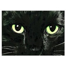 Black Cat Pearl Invitations