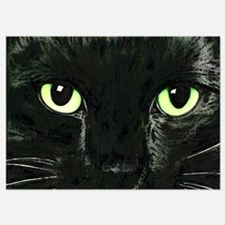 Black Cat Pearl Invitations