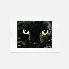 Black Cat Pearl 5'x7'Area Rug