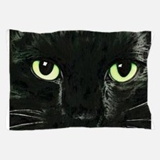 Black Cat Pearl Pillow Case