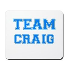 TEAM CRAIG Mousepad
