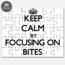 Keep Calm by focusing on Bites Puzzle