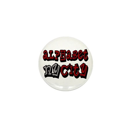 """""""CLICK HERE for ALPHABET CITY Mini Button (100 pac"""