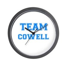 TEAM COWELL Wall Clock
