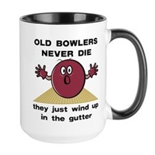 Old Bowlers Never Die Mug