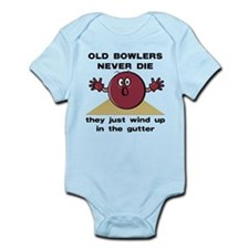 Old Bowlers Never Die Infant Bodysuit