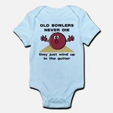 Old Bowlers Never Die Infant Bodysuit