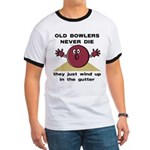 Old Bowlers Never Die Ringer T